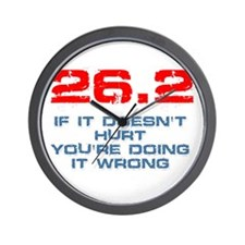 26.2 - If It Doesn't Hurt Wall Clock