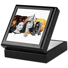 MI RAZA WOMEN WITH BORIKEN Keepsake Box