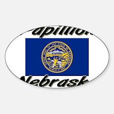Papillion Nebraska Oval Decal