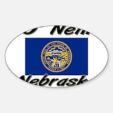 O' Neill Nebraska Oval Decal