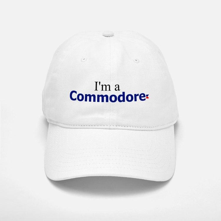 I'm a Commodore Baseball Baseball Cap