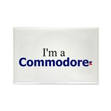 I'm a Commodore Rectangle Magnet