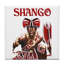 NEW!!! SHANGO CLOSE-UP Tile Coaster