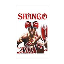 NEW!!! SHANGO CLOSE-UP Rectangle Decal