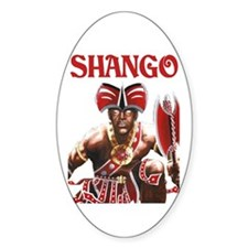 NEW!!! SHANGO CLOSE-UP Oval Decal