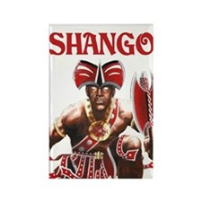 NEW!!! SHANGO CLOSE-UP Rectangle Magnet
