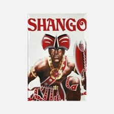 NEW!!! SHANGO CLOSE-UP Rectangle Magnet