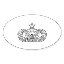 Security Forces Oval Decal
