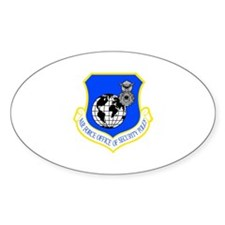 Security Police Oval Decal