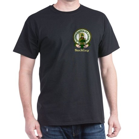 Buckley Clan Motto Style #2 Dark T-Shirt