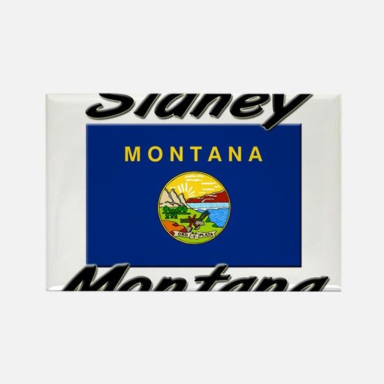 Sidney Montana Rectangle Magnet