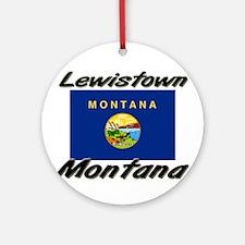 Lewistown Montana Ornament (Round)