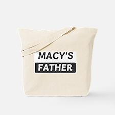 Macys Father Tote Bag