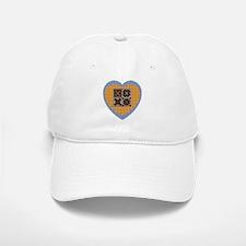 Quilt Heart Baseball Baseball Cap