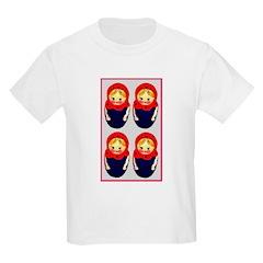 Russian Dolls Kids T-Shirt