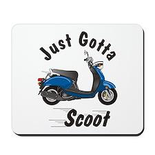 Just Gotta Scoot Vino Mousepad