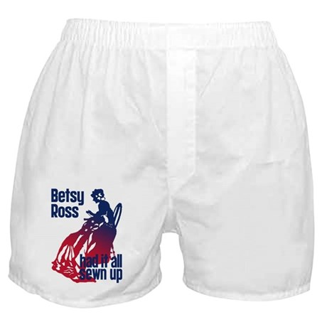 Betsy Ross Had It All Sewn Up Boxer Shorts