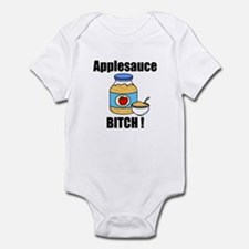 Applesauce Bitch Infant Bodysuit