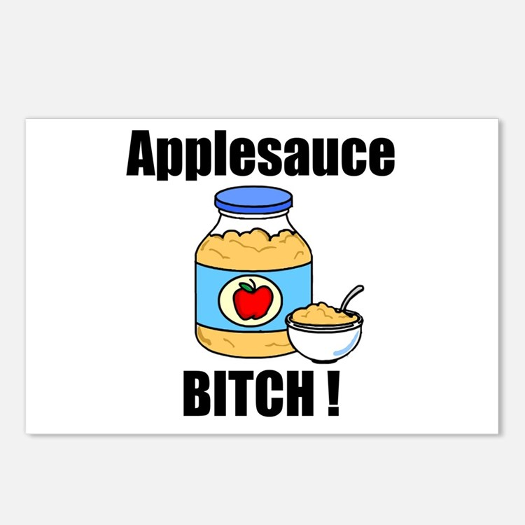 Applesauce Bitch Postcards (Package of 8)