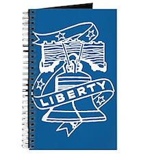 Retro Liberty Bell Journal