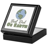 Earth day birthday Keepsake Boxes