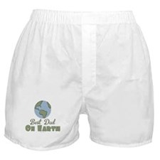 Best Dad On Earth Boxer Shorts