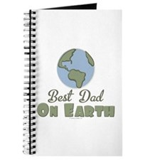 Best Dad On Earth Journal