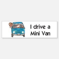 Drive Mini Van Bumper Bumper Bumper Sticker