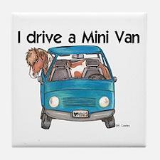 Drive Mini Van Tile Coaster