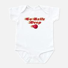 Dodgeball - Go Balls Deep Infant Bodysuit