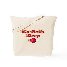 Dodgeball - Go Balls Deep Tote Bag