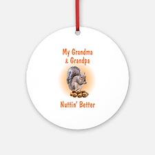 Grandma & Grandpa Ornament (Round)