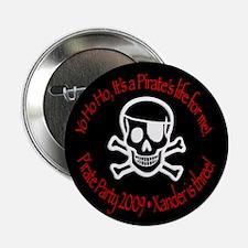 "Xander's Pirate Birthday 2.25"" Button (10 pac"