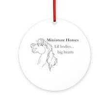 MH Big Hearts Ornament (Round)