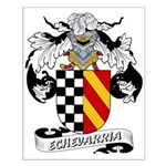 Echevarria Coat of Arms Small Poster
