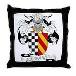 Echevarria Coat of Arms Throw Pillow