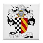 Echevarria Coat of Arms Tile Coaster