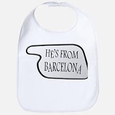 He's from Barcelona Bib