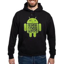 Google Android Geek QR Code Hoody