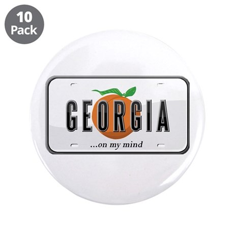 """Georgia 3.5"""" Button (10 pack)"""