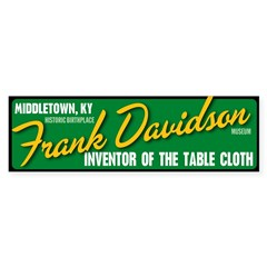 Inventor of the Table Cloth sticker