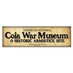Cola War Museum sticker