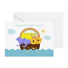 Noah's Ark Greeting Card