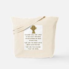 Cute Obama baby Tote Bag