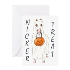 Nicker Treat Greeting Card