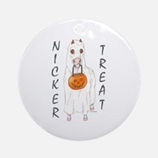 Nicker Treat Ornament (Round)