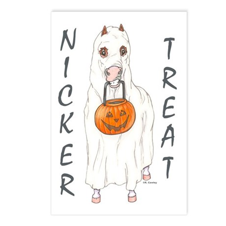 Nicker Treat Postcards (Package of 8)