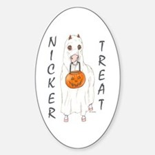 Nicker Treat Oval Decal