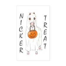 Nicker Treat Rectangle Decal