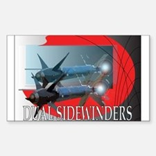 Dual Sidewinder Rectangle Decal